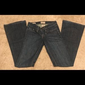 William Rast Jeans Belle Flare Flap Pockets